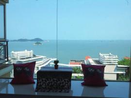 华发绿洋山庄 顶级海景大户 室内3.3米高 6.2米阔客厅 看港珠澳大桥